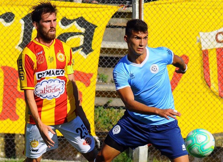 10.02.2018 Progreso goleó a Torque en el Estadio José Nasazzi