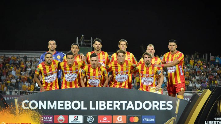 22.01.2020 Progreso perdió con Barcelona en el partido de ida de Copa Libertadores